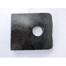 Пластина (ушко) тягового устройства (1,2кг)