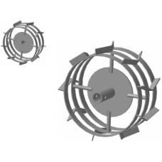 Грунтозацеп (пара) для мотокультиватора 3 обода, широкий 30.310.135