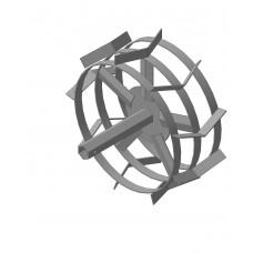 Грунтозацеп (пара) S-32.445.180 МБ 6-гранная сквозная втулка , 3 обода