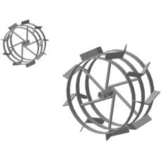Грунтозацеп  (пара) S-24 380.180 МБ 6-гранная сквозная втулка , 3 обода