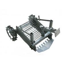 Картофелекопатель транспортерный с приводом от грунтозацепов к мотоблокам и минитракторам BY