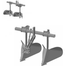 Окучник МБ  2-хрядный, регулируемый, раздвижной со сцепкой