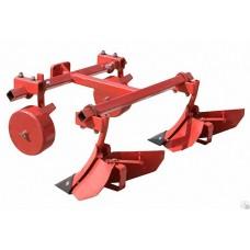 Окучник двойной для минитракторов МТЗ с опорными колёсами