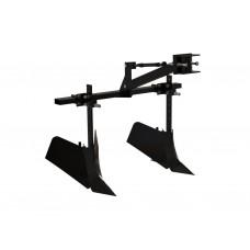 Окучник двойной Стрела для мотоблока и минитрактора со сцепкой